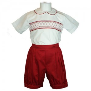 BoysSuit_Red_Front