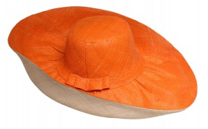 two tone straw hats